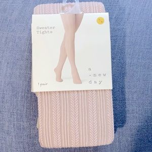 A New Day Sweater Tights, S/M, NWT